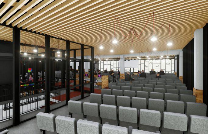 Amenajare interior Biserica Betel